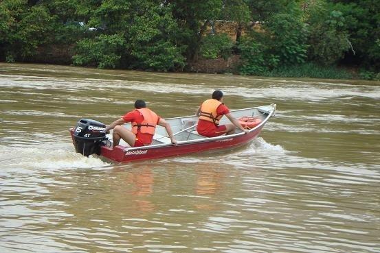Duas pessoas morrem afogadas no Rio Braço Norte