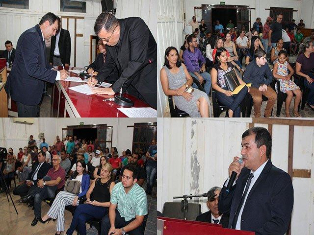 Após afastamento de prefeito, vice assume interinamente em Colniza