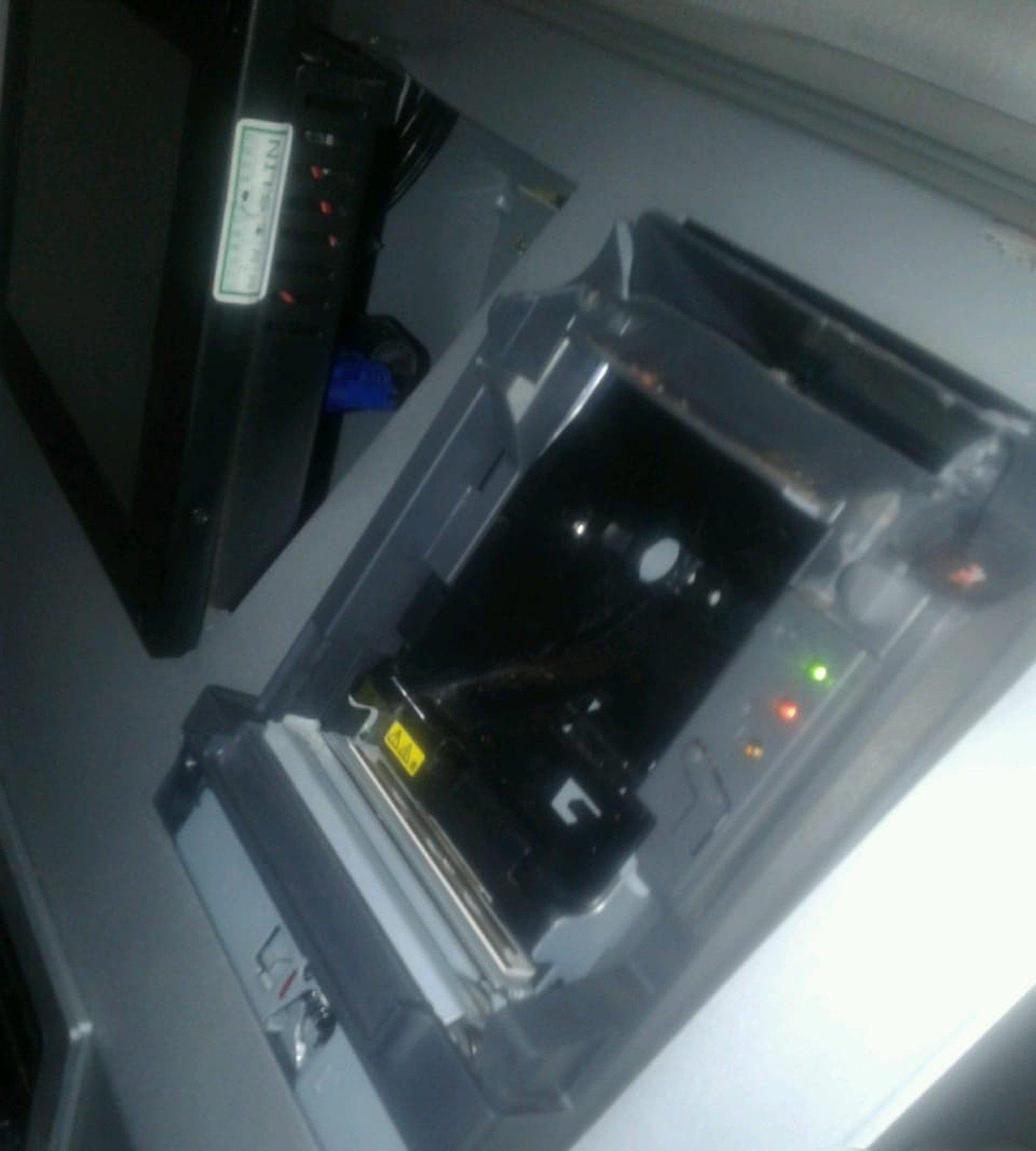 Criminosos invadem correspondente de banco em MT, roubam R$ 750 e fogem após alarme disparar