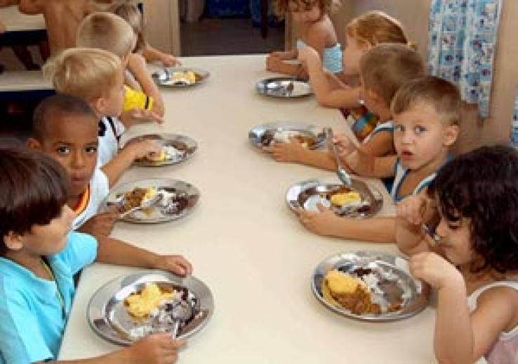 Projeto de lei assegura alimentos saudáveis nas escolas