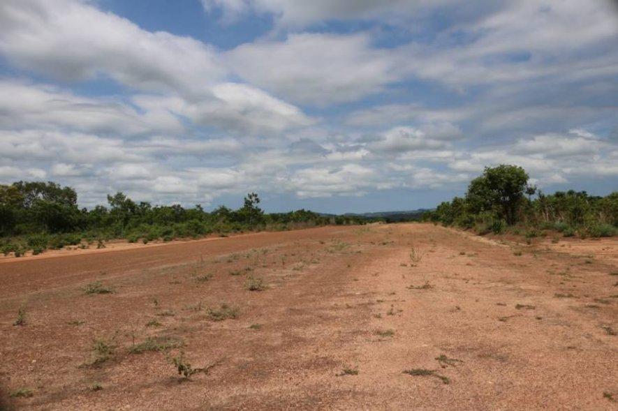Vereadores solicitam a construção de uma pista para pouso de avião na localidade Taguaruçu do Norte