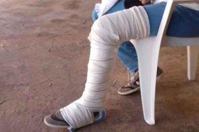 Homem abandona as muletas e sai andando e é preso em flagrante ao tentar aplicar golpe no INSS em MT