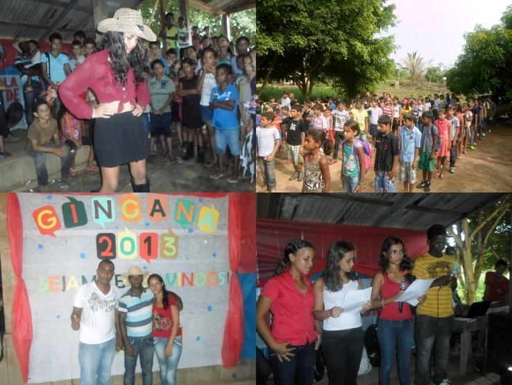 Gincana escolar movimentam alunos da zona rural no Municipio de Colniza
