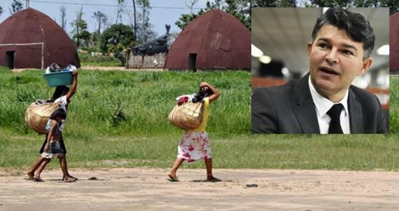 Deputado quer expulsar indígenas das suas terras tradicionais