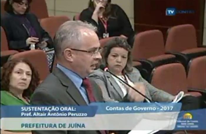 Prefeitura de Juína tem contas exercício 2017 reprovadas pelo TCE com 5 irregularidades