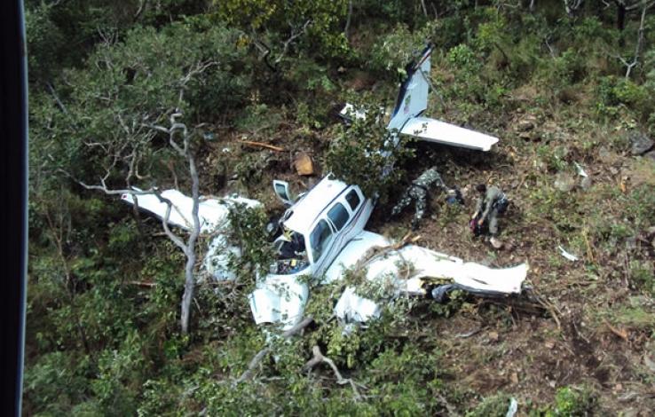 Cinco morrem em queda de avião na divisa de MT com o Pará