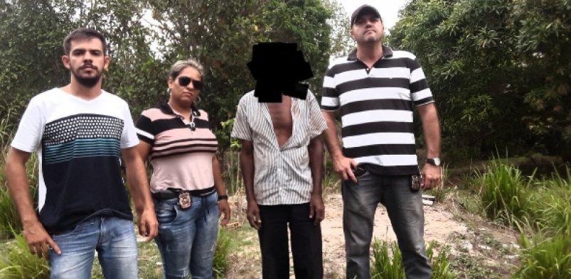 Policia Civil prende em Colniza suspeito de homicídio e estupro