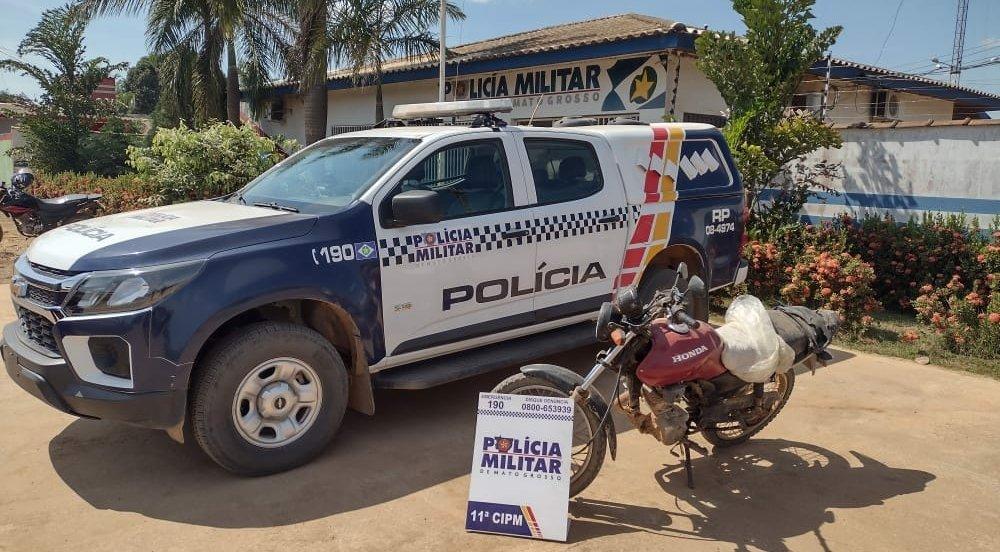 PM de Colniza recupera veículo produto de furto