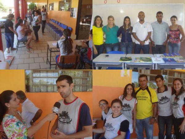 Jovens da Missão Calebe realizam trabalhos evangelísticos e humanitários em Colniza-MT