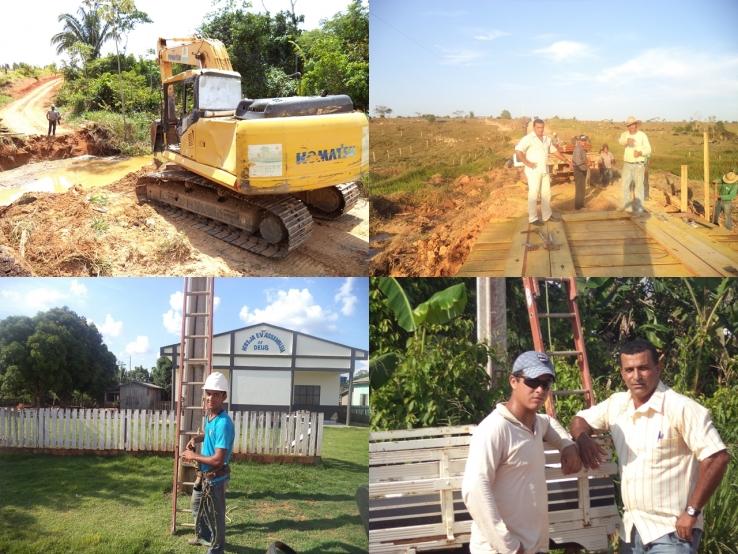 Comunidade da Agrovila agradece o Vereador Mirão pelas obras recebidas