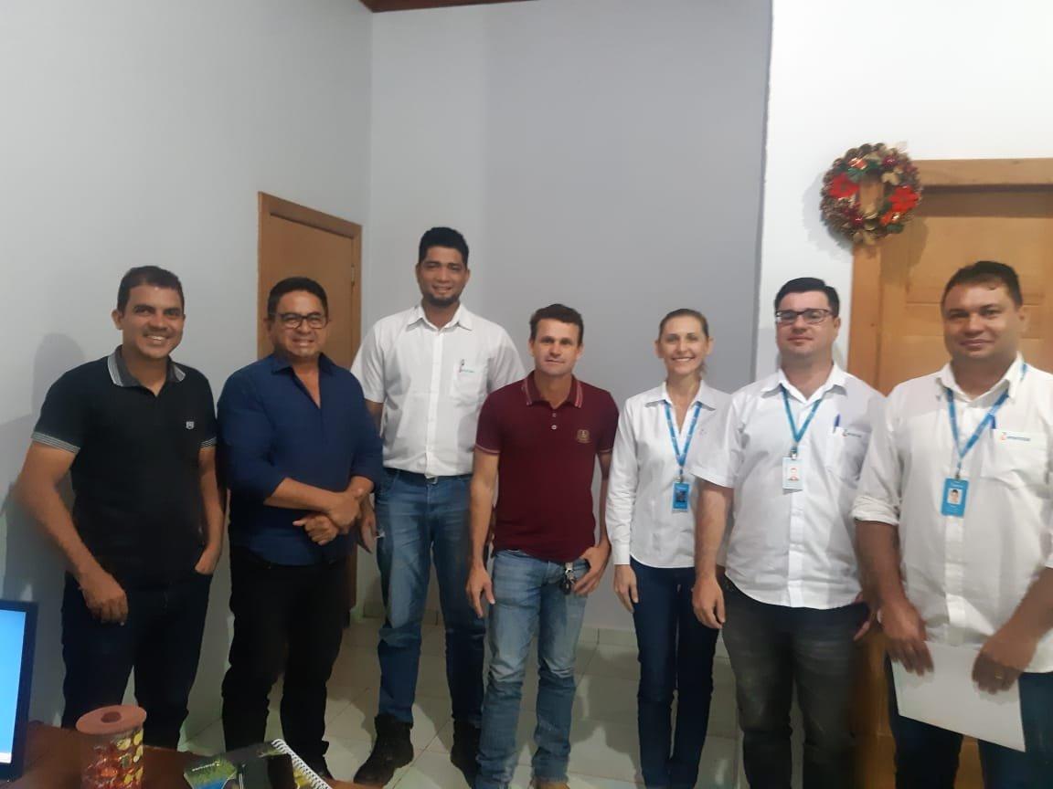 Representantes da ENERGISA se reúnem com prefeito e vereadores
