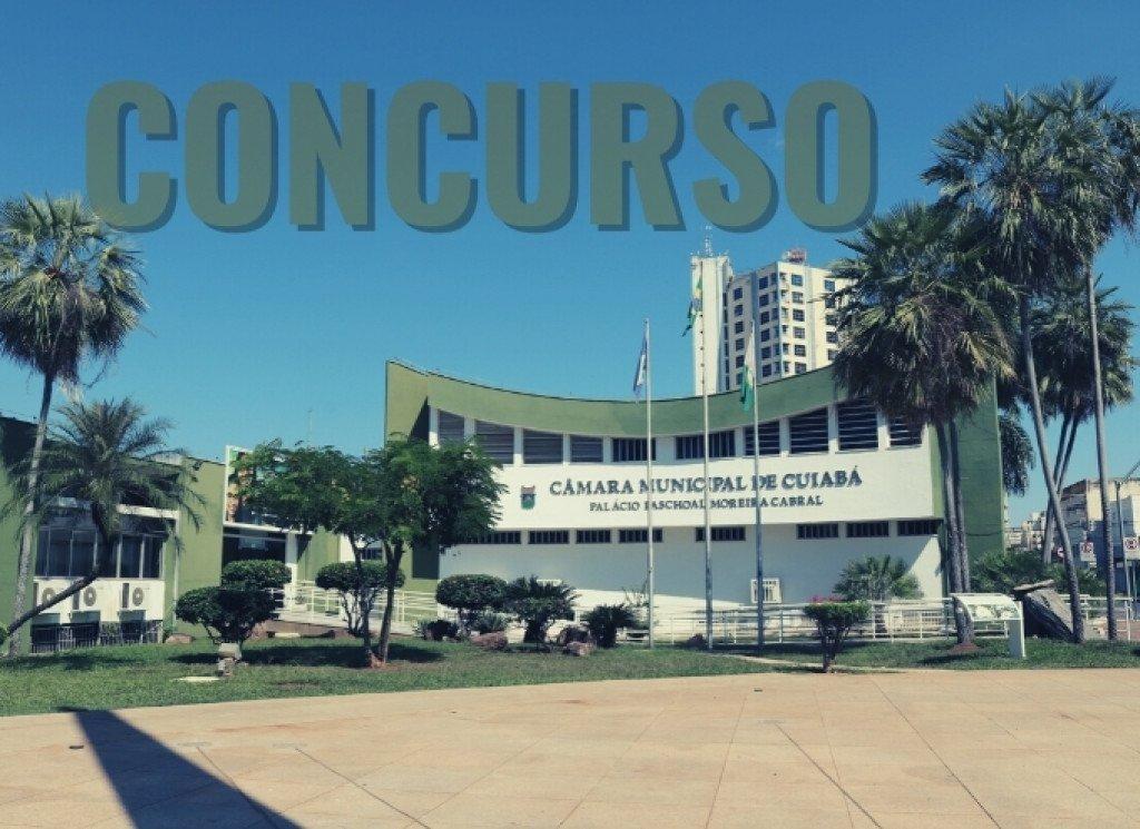 Câmara de Cuiabá lança concurso com salários de até R$ 7,9 mil