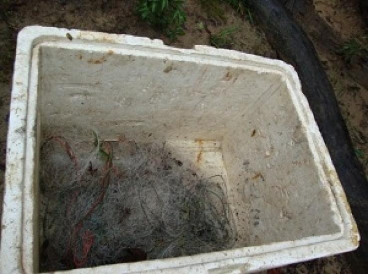 Material de pesca predatória é apreendido por fiscais de Colniza