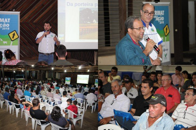 Pecuaristas de Colniza participam do evento Acrimat em Ação 2018