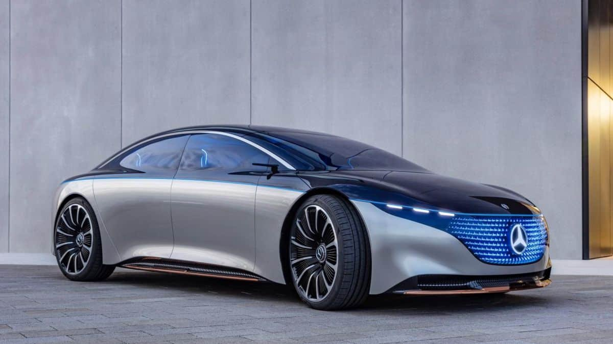 Sedã elétrico da Mercedes terá mais autonomia que o Tesla Model S