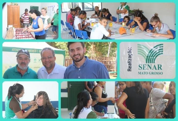 SENAR - MT realiza Mutirão Rural em Colniza