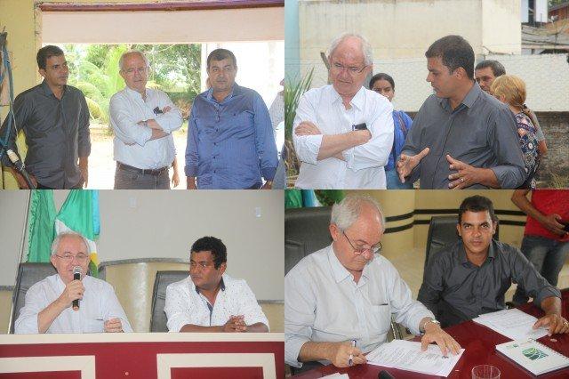 Deputado Federal Adilton Sachetti visita Colniza e se reúne com prefeito, vereadores e lideranças politicas
