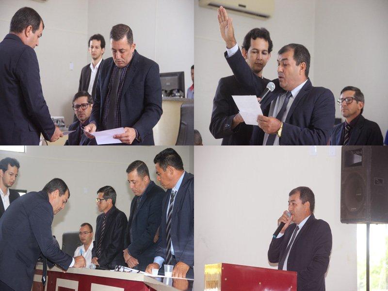 Vice-prefeito de Colniza toma posse em sessão solene realizada na Câmara do município