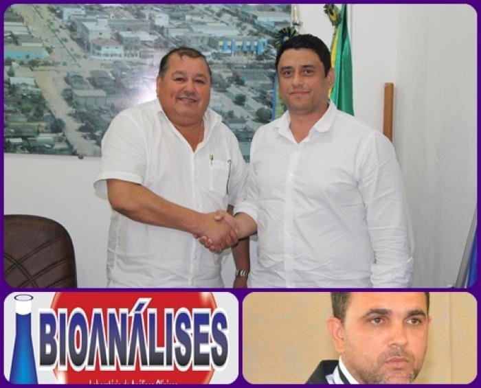 Em reunião nesta manhã com o Bioquímico o prefeito Vando decide estender laboratório ao distrito do Guariba