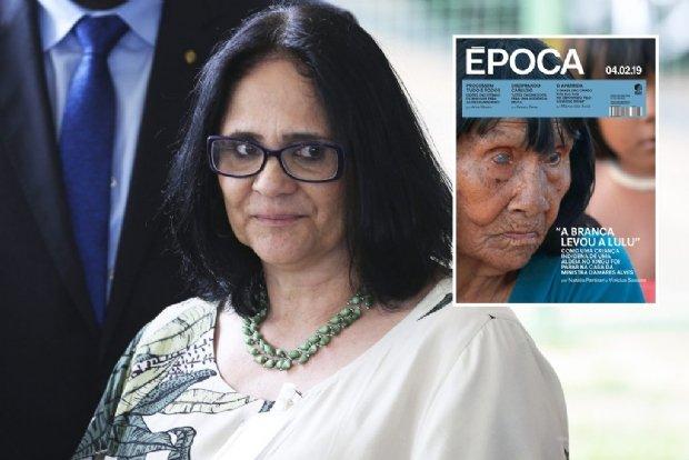 Ministra de Bolsonaro é acusada de sequestrar índia de aldeia em Mato Grosso