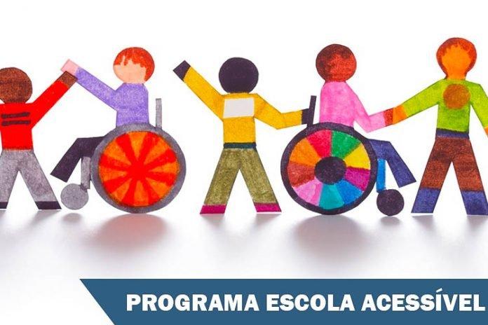 Adesão ao Programa Escola Acessível vai até 9 de novembro