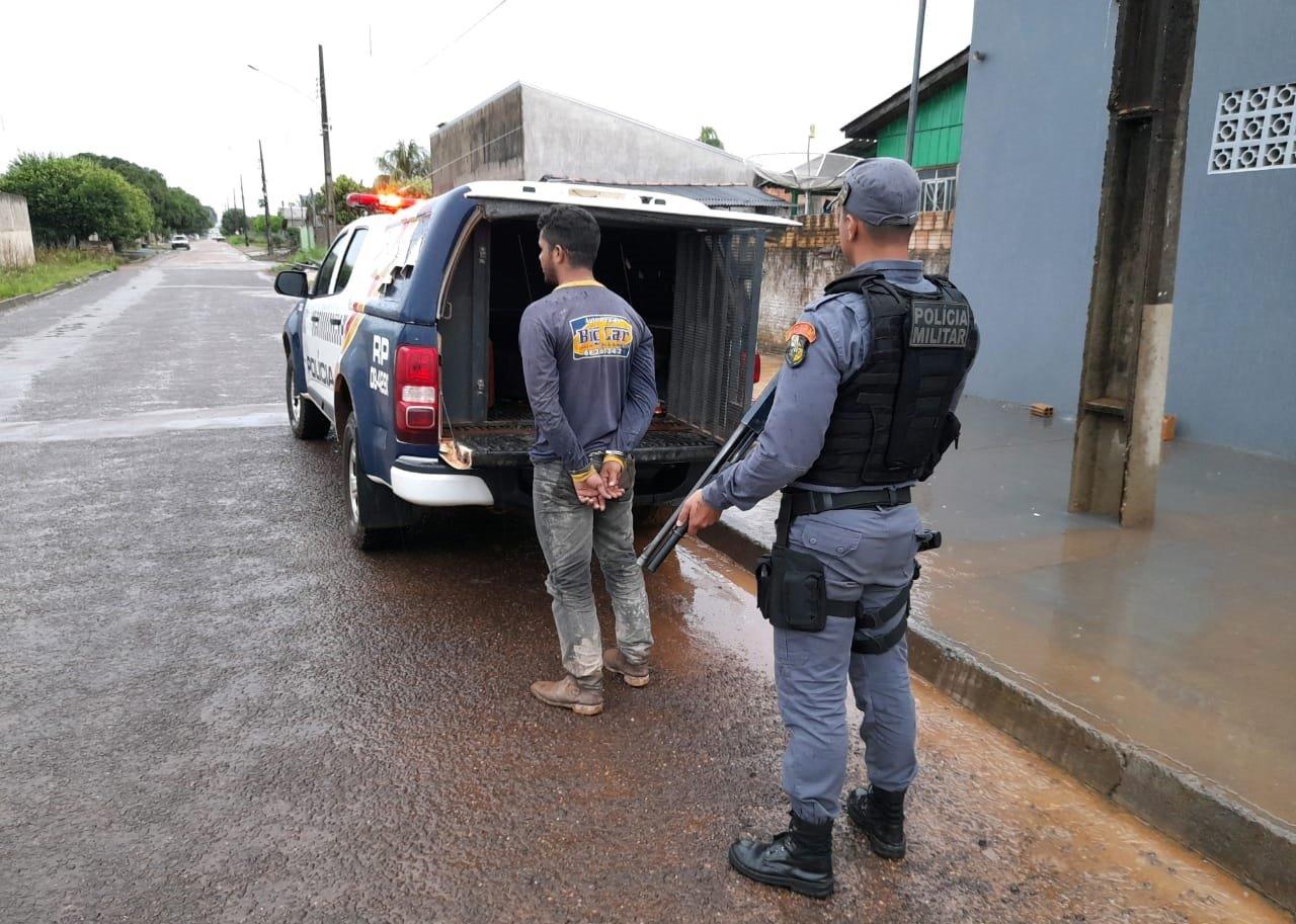 Foragido de Rondônia é preso em Aripuanã