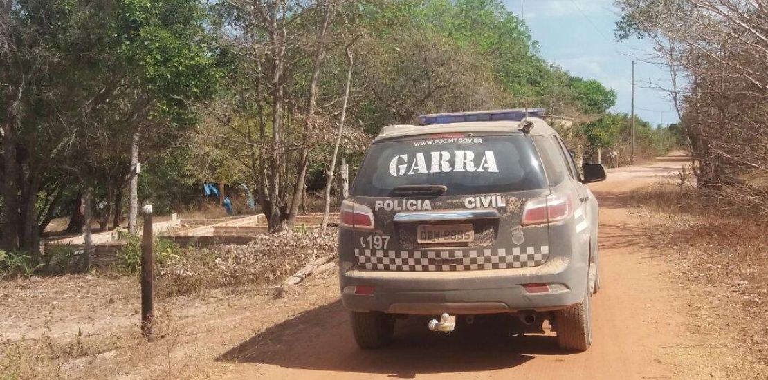 Repressão a invasão de terras resulta na prisão de sete com seis armas de fogo