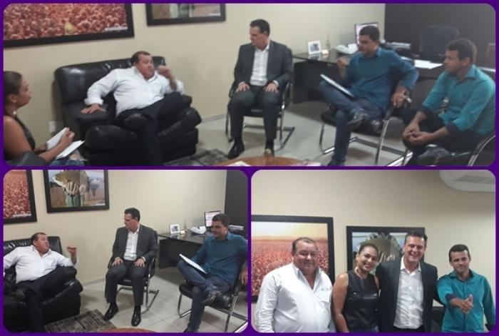 Prefeito Vando acerta parceria com o Vice – Governador para fomentar a cafeicultura em Colniza