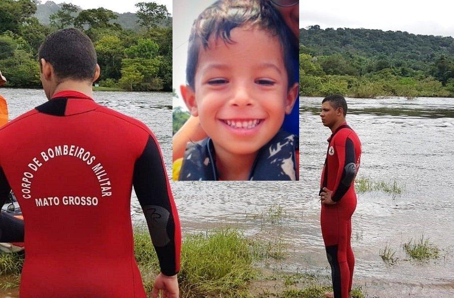 Em Aripuanã criança de 04 anos desaparece em balneário