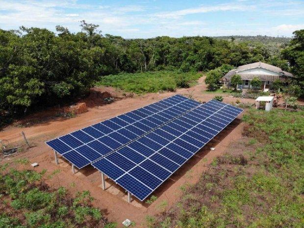 Empaer viabiliza implantação de sistema de energia solar no campo