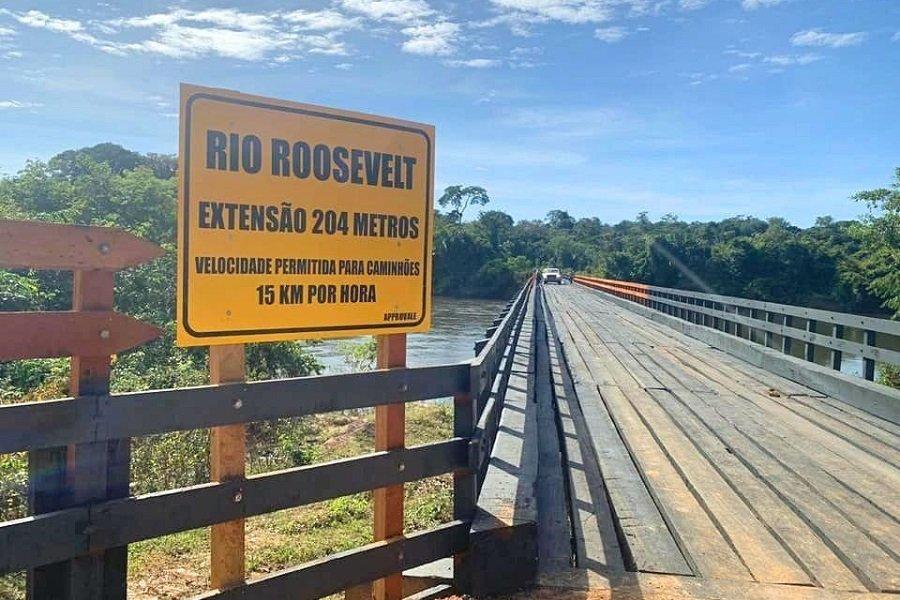Colniza/MT: Parceria entre Estado e associação garante manutenção de estradas e pontes no Vale do Rio Roosevelt
