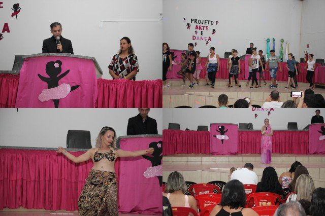 Projeto arte e dança é apresentado em Colniza