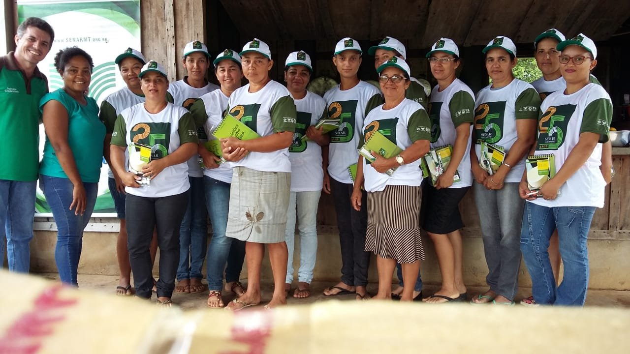 Sindicato Rural e Senar realizam curso de derivados do leite em Colniza