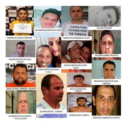 Justiça determina prisão preventiva de 16 pessoas, sequestro de 19 imóveis e valores de 10 contas