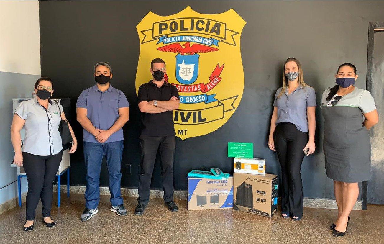 Polícia Civil tem projeto atendido pelo Fundo Social Sicredi