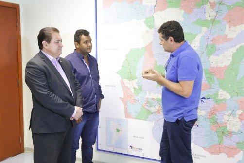 Deputado Sebastião Rezende visita a Eletrobras Eletronorte