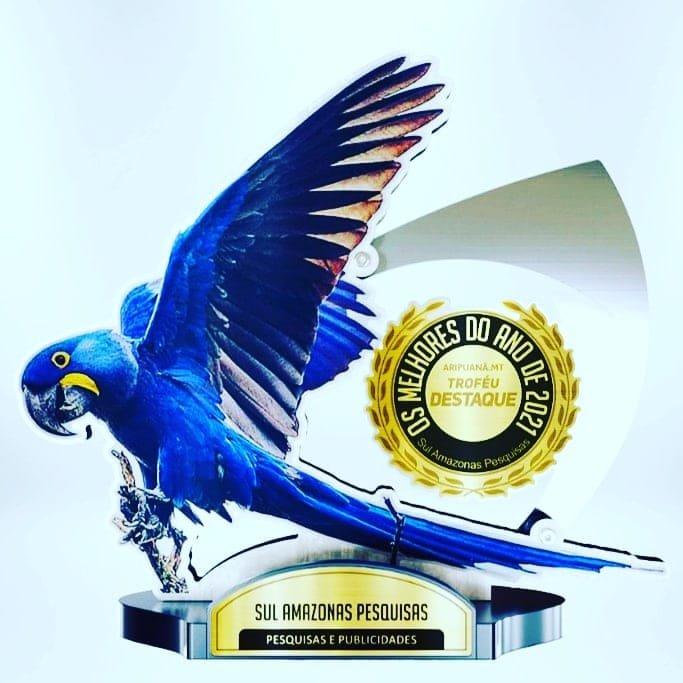 No dia 27 de novembro acontecerá a entrega do troféu melhores do ano em Colniza