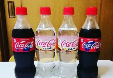 Coca-Cola transparente é lançada