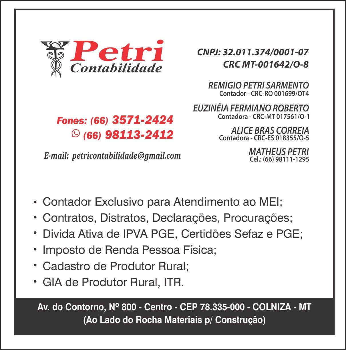 Petri contabilidade