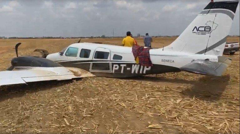 Avião com candidata ao Senado sofre acidente em MT