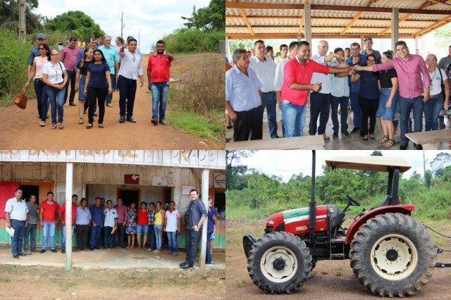 Prefeitura de Colniza entrega patrulha agrícola para Associação dos Pequenos Produtores Rurais