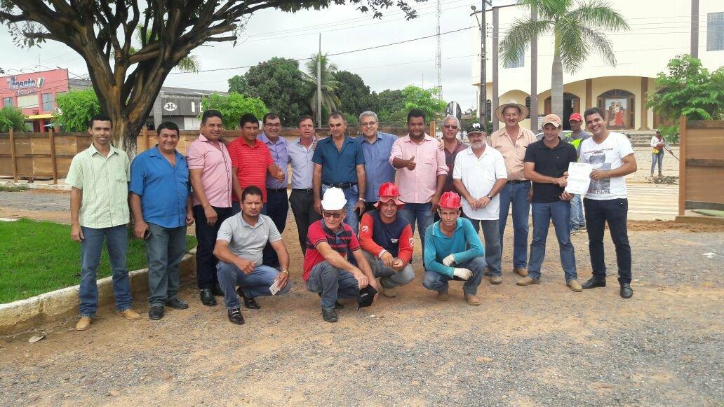 Após liberação de emenda parlamentar Praça da Bíblia em Colniza será revitalizada