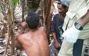 Corpo de Bombeiros de Juína resgata homem perdido em mata a 36 horas