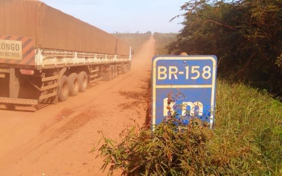 Justiça Federal manda fechar traçado da BR-158, que corta o interior da reserva indígena Marãiwatsédé em MT
