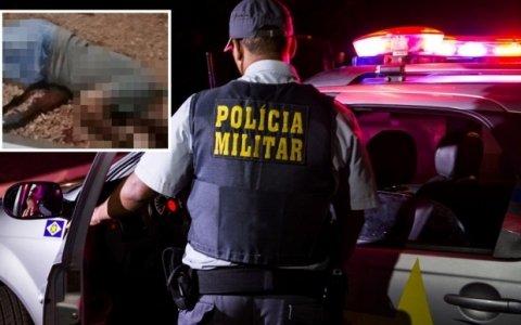 Homem armado em bar atira em policiais militares que revidam e matam suspeito em Juruena
