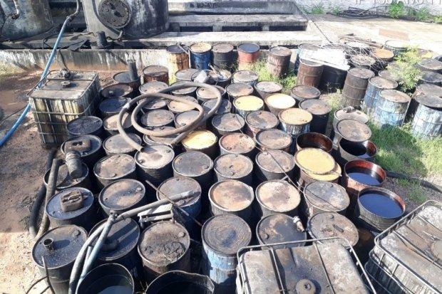 Polícia deflagra operação contra empresas suspeitas de crime ambiental por uso irregular de óleo lubrificante