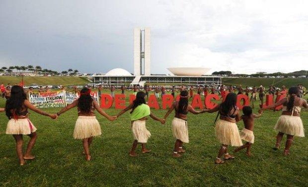 Bolsonaro quer liberar produção agrícola em terra indígena