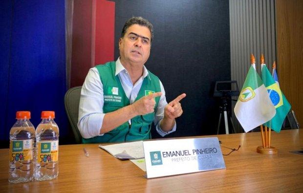 Prefeito cancela cerimônia de posse devido ao aumento no número de casos de Covid-19 em Cuiabá