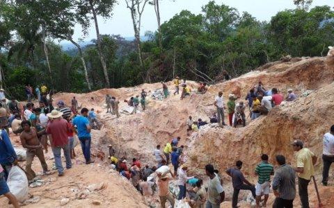 Dono da fazenda invadida diz que jazida é enorme e tem ouro e diversos minérios