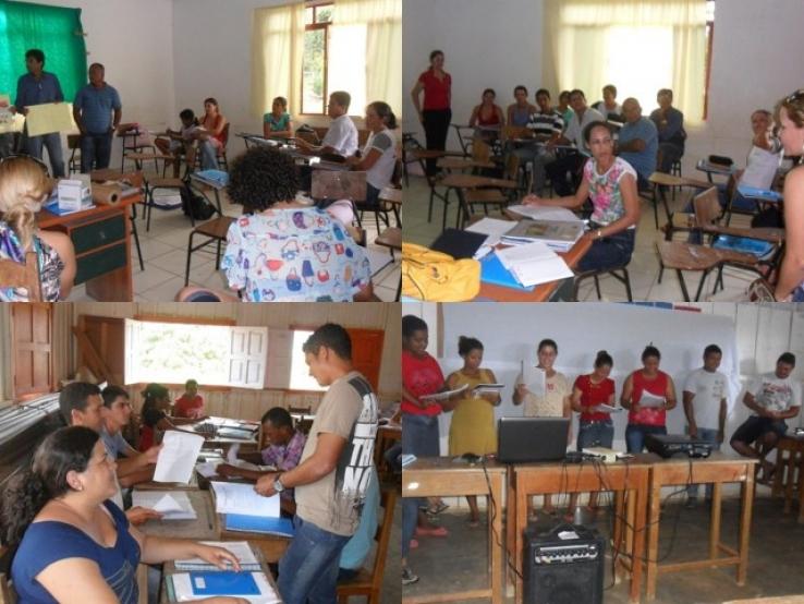 Ação da Coordenação Pedagógica em Colniza-MT